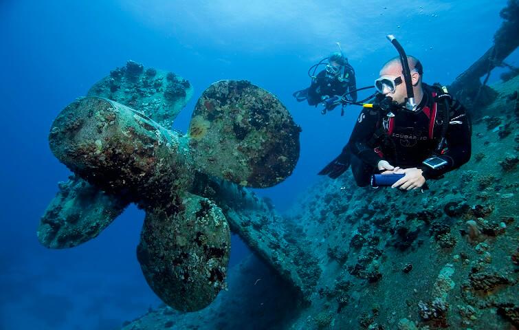 Plongées sur épave SSO ou PADI