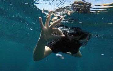 Tout va bien sous l'eau