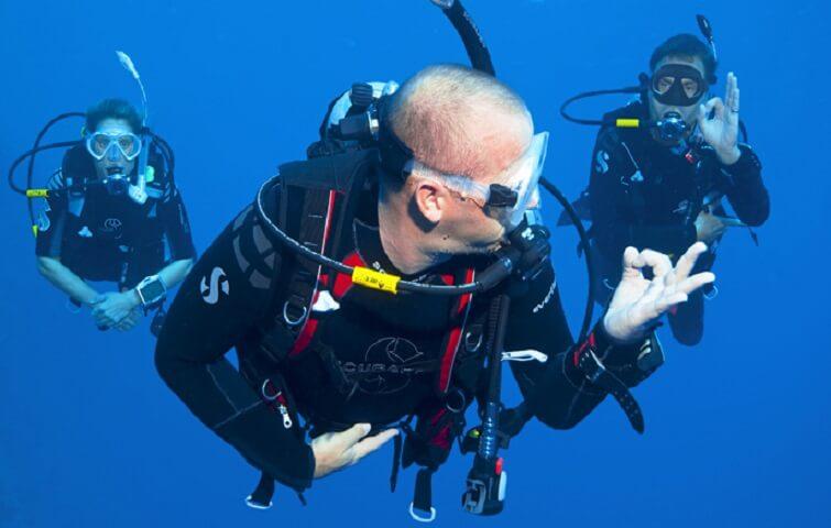 plongée en dérive à Bali