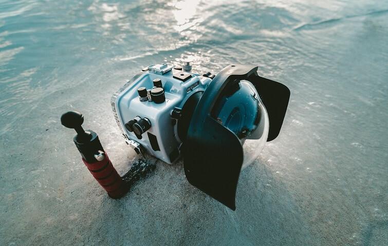 Cours de photographie sous marine