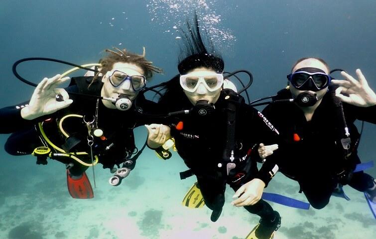 Apprendre à plonger à Bali