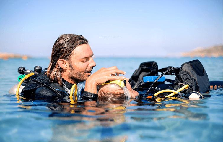 Cours de plongée en Indonésie