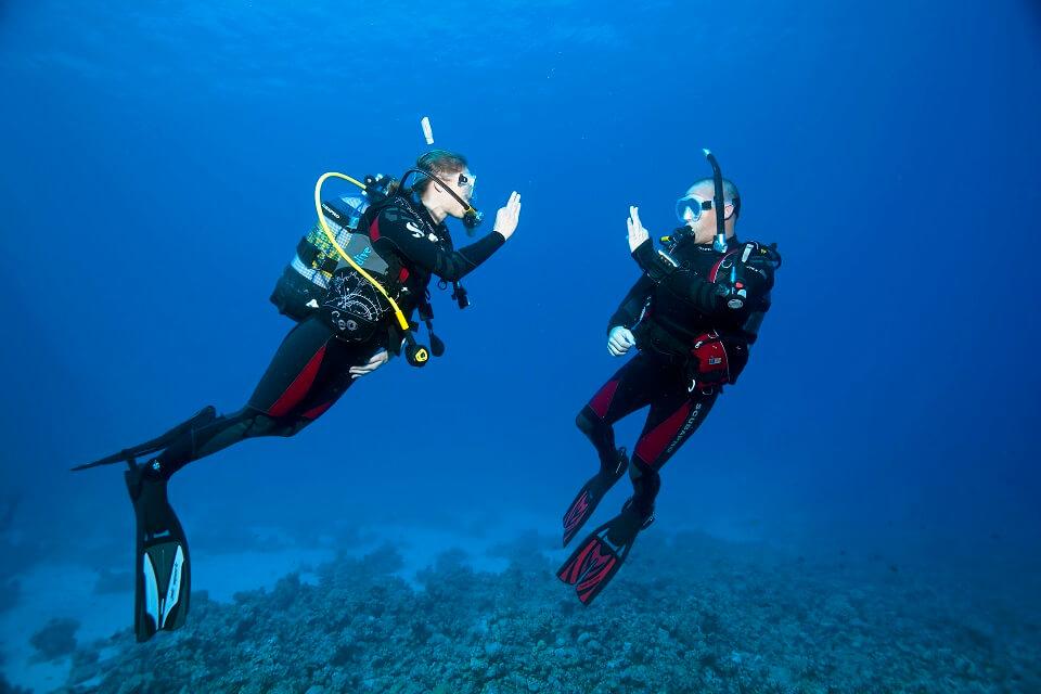 Cours plongeur Open Water